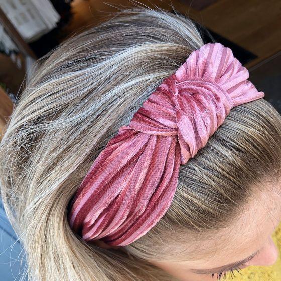 Headband Rose fra Black Colour